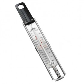 CDN Candy and deep fry ruler thermometer 40 to 200 degrees C