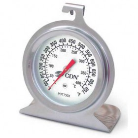 CDN high heat oven thermometer 50 to 400 degrees C