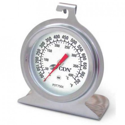 CDN high heat oven thermometer 50 to 400 degrees C from dowricks.com