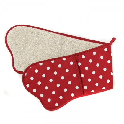 Belle - Kitchen textiles - belle double oven glove from dowricks.com