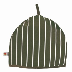 Belle - Kitchen textiles - butchers stripe tea cosy green
