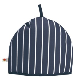 Belle - Kitchen textiles - butchers stripe tea cosy navy