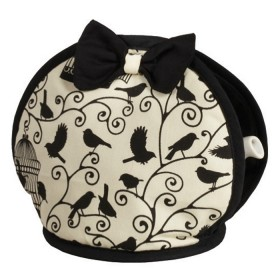 Belle - Kitchen textiles - bird cages bow tea cosy