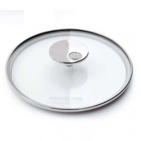 Mauviel - Collection m'cook - 16 cm glass lid