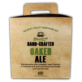Hand-crafted Oaked Ale