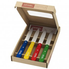 Opinel -  Set of 4 Paring Knives Classic  Number 112.