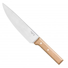 Opinel - Chefs knife Beech handle - Number 118 - Parallele
