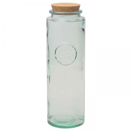 San Miguel - 1.8 litre Tall Jar with Cork Stopper - Authentic from dowricks.com