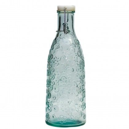 San Miguel - 1 litre Bottle with Stopper - Flora from dowricks.com
