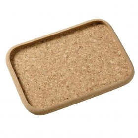 Viking Cork Woodware - rectangular tray 32 x 22 cm
