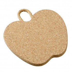 Viking Cork Woodware - trivet with rope apple 220 mm cork
