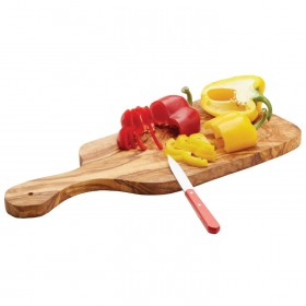 Woodware - handled chopping board 44 cm