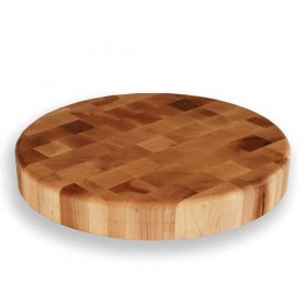 Woodware - 15 x 2 inch circular end grain block maple