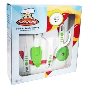 Crisp tools for healthy eating - 5 piece pizza kit curious chef