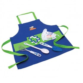 Crisp tools for healthy eating - 11 piece boy's chef kit curious chef