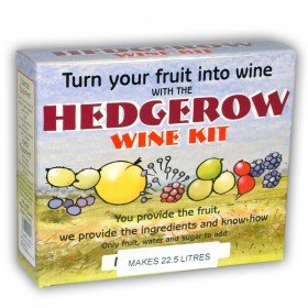 Hedgerow Winemaking kit 1 gallon