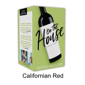On the house - Californian Red - 30 bottle wine kit