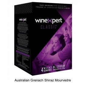 Winexpert - Classic Australian Grenach Shiraz Mourvedre - 30 bottle winemaking kit