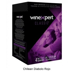 Winexpert Classic - Chilean Diabolo Rojo - 30 bottle winemaking kit