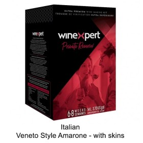 Winexpert  - Private reserve - Italian Veneto Style Amarone - with grape skins (Winemaking Kit)