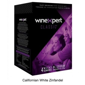 Winexpert Classic Californian White Zinfandel winemaking kit