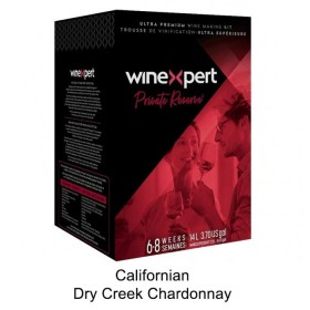 Winexpert  - Private reserve - Californian Dry Creek Chardonnay - Winemaking  Kit