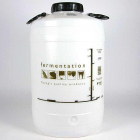 25 litre / 5 gallon Screw Top Plastic Fermenter