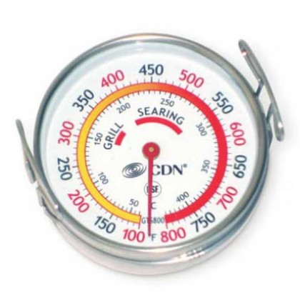 CDN Grill surface thermometer 50 to 425 degrees C from dowricks.com