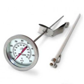 CDN Insta-Read long stem fry thermometer 100 to 500 degrees Farenheit