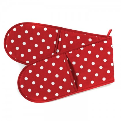 Belle - Kitchen textiles - belle 4-pocket double oven glove from dowricks.com