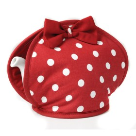 Belle - Kitchen textiles - belle tea cosy with bow