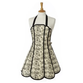 Belle - Kitchen textiles - panelled kitchen apron le tour