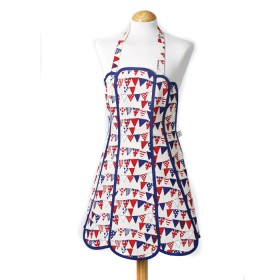 Belle - Kitchen textiles - panelled kitchen apron flotilla