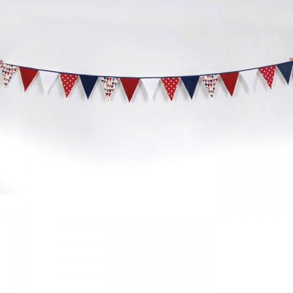 Belle - Kitchen textiles - 5m bunting strip flotilla from dowricks.com