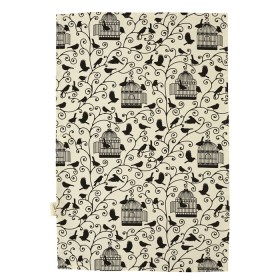 Belle - Kitchen textiles - bird cages tea towel