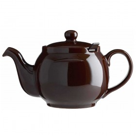 Chatsford Brown 2 cup stoneware teapot with brown filter
