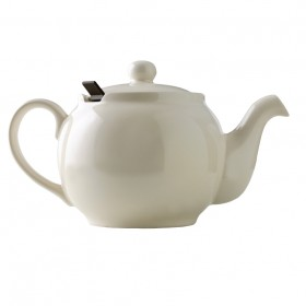 Chatsford Cream 10 cup teapot with brown filter