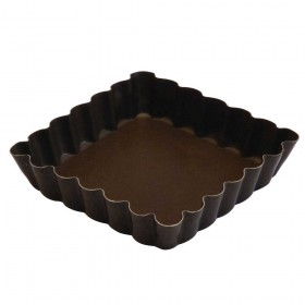 Gobel Bakeware - 100mm non-stick square tarte mould