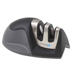 edge grip 2-stage sharpener charcoal