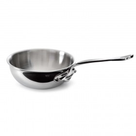 Mauviel - Collection m'cook - 24 cm curved splayed sautepan