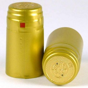 Shrink Capsules - Gold - 1000x