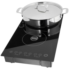 Stellar Electricals, Double Induction Hob, 3100W