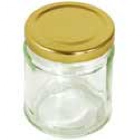 Round Screw Top Jam Jars
