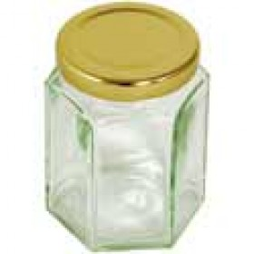 Hexagonal Screw Top Jars