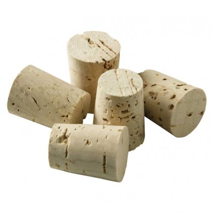 Viking Cork Woodware - set 5 big conical corks from dowricks.com