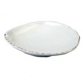 Virginia Casa - 15 cm shell plate bianco marina