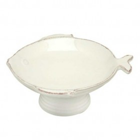 Virginia Casa - 17 cm footed bowl bianco marina height 7.3 cm