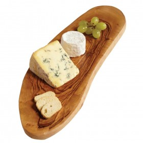 Woodware - rustic cheese board ( approx 30 cm ) olivewood