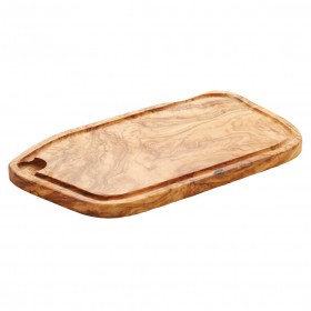 Woodware - board with groove small ( 30-50 cm ) Olivewood