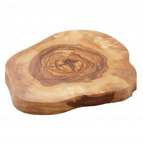 Woodware - flat cheese plate large olivewood